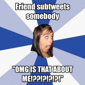 It's A SubTweet
