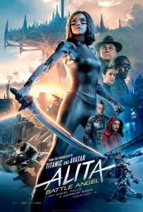 Alita Cast Poster